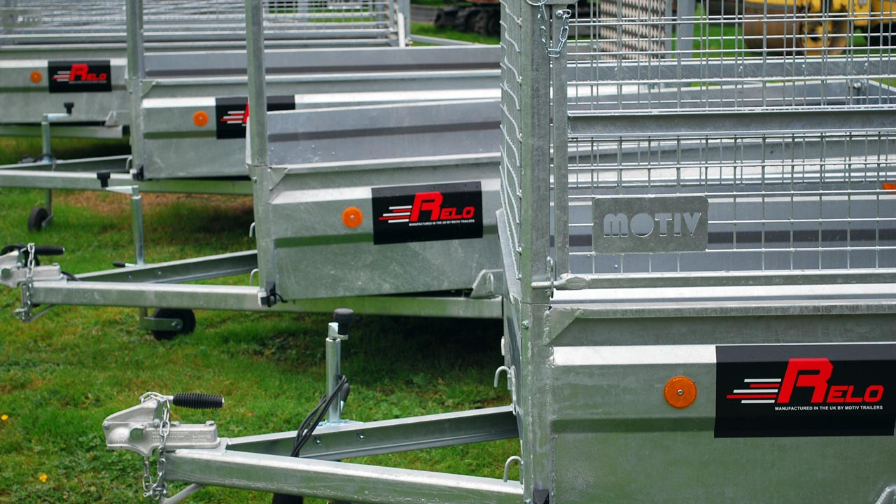 Relo Trailers model line up