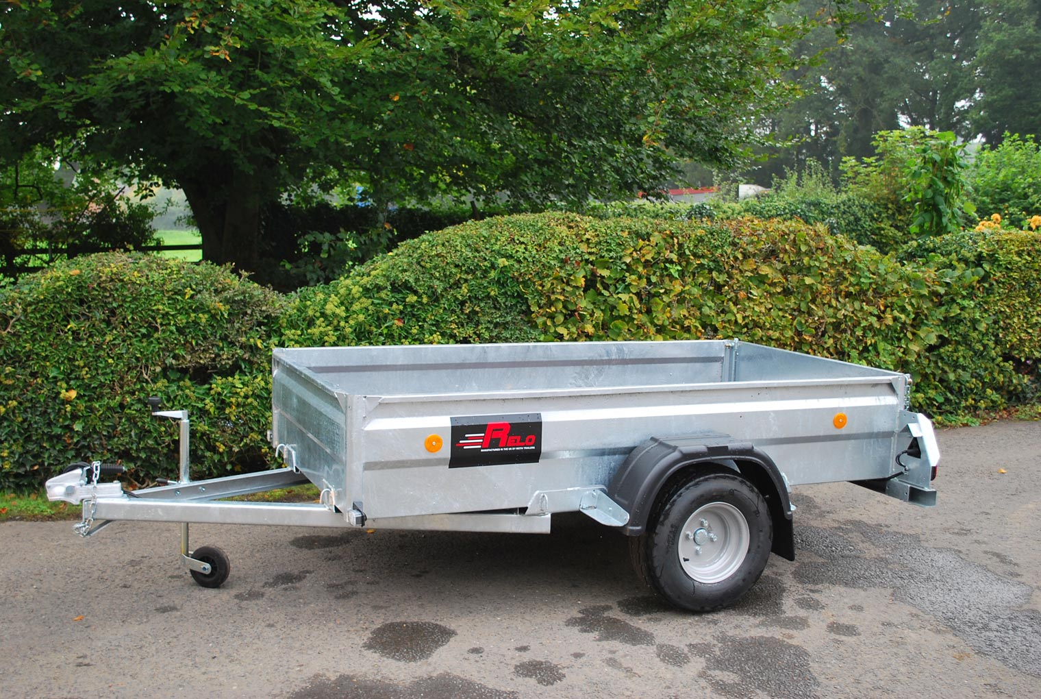 Relo On Road Model 74 Trailer base model