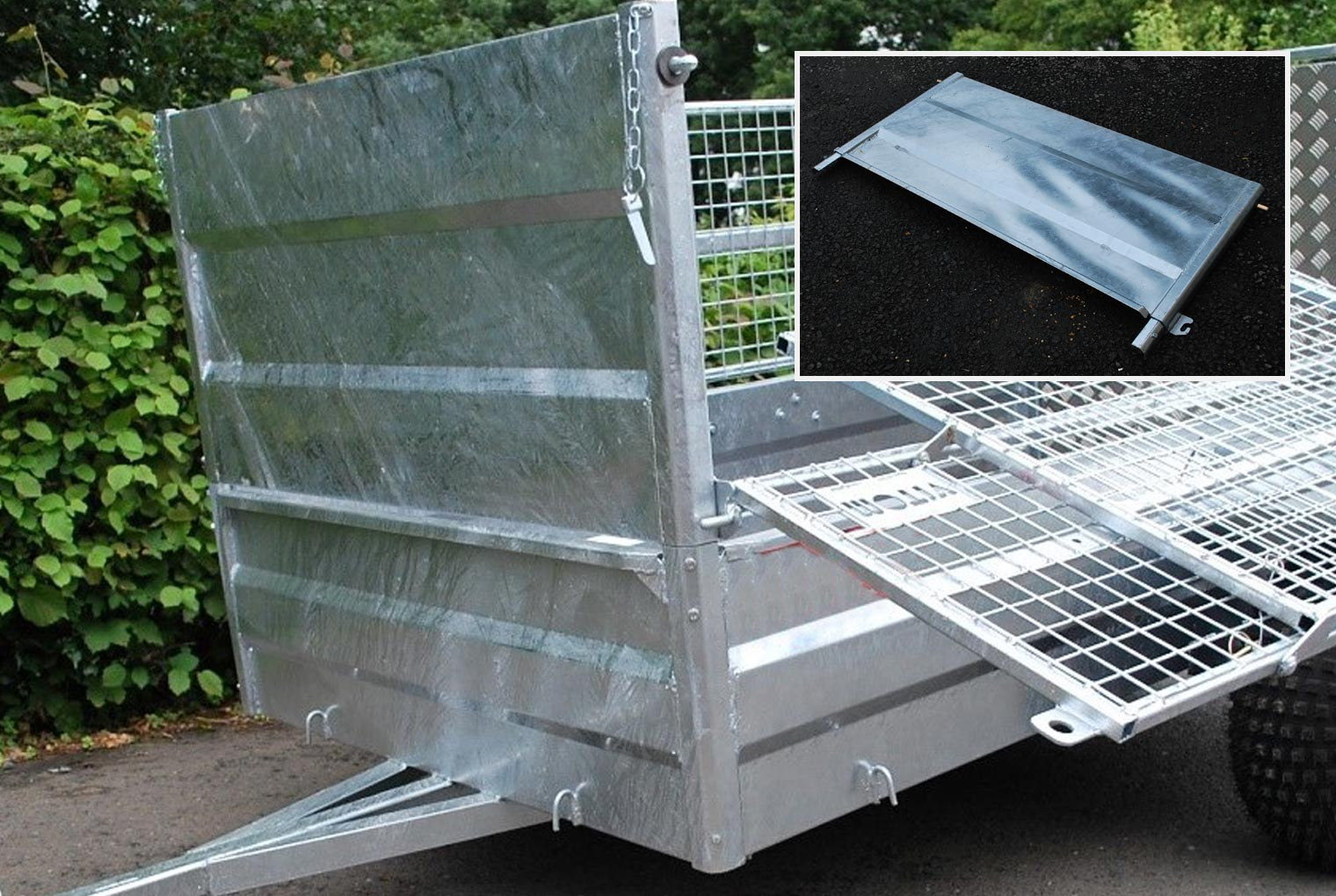 Solid Front Panel Relo Trailer Accessory