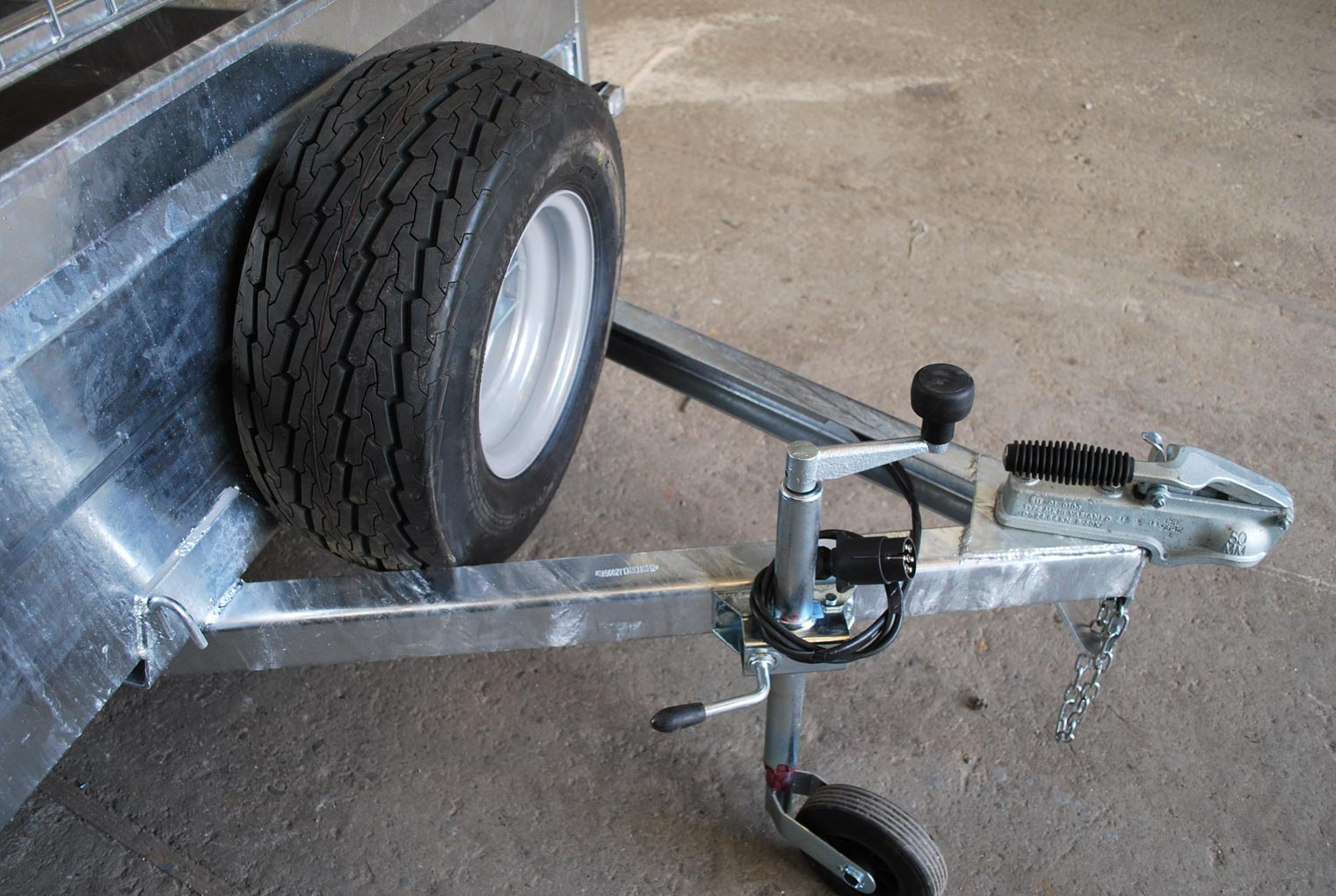 Spare Wheel Relo Trailer Accessory