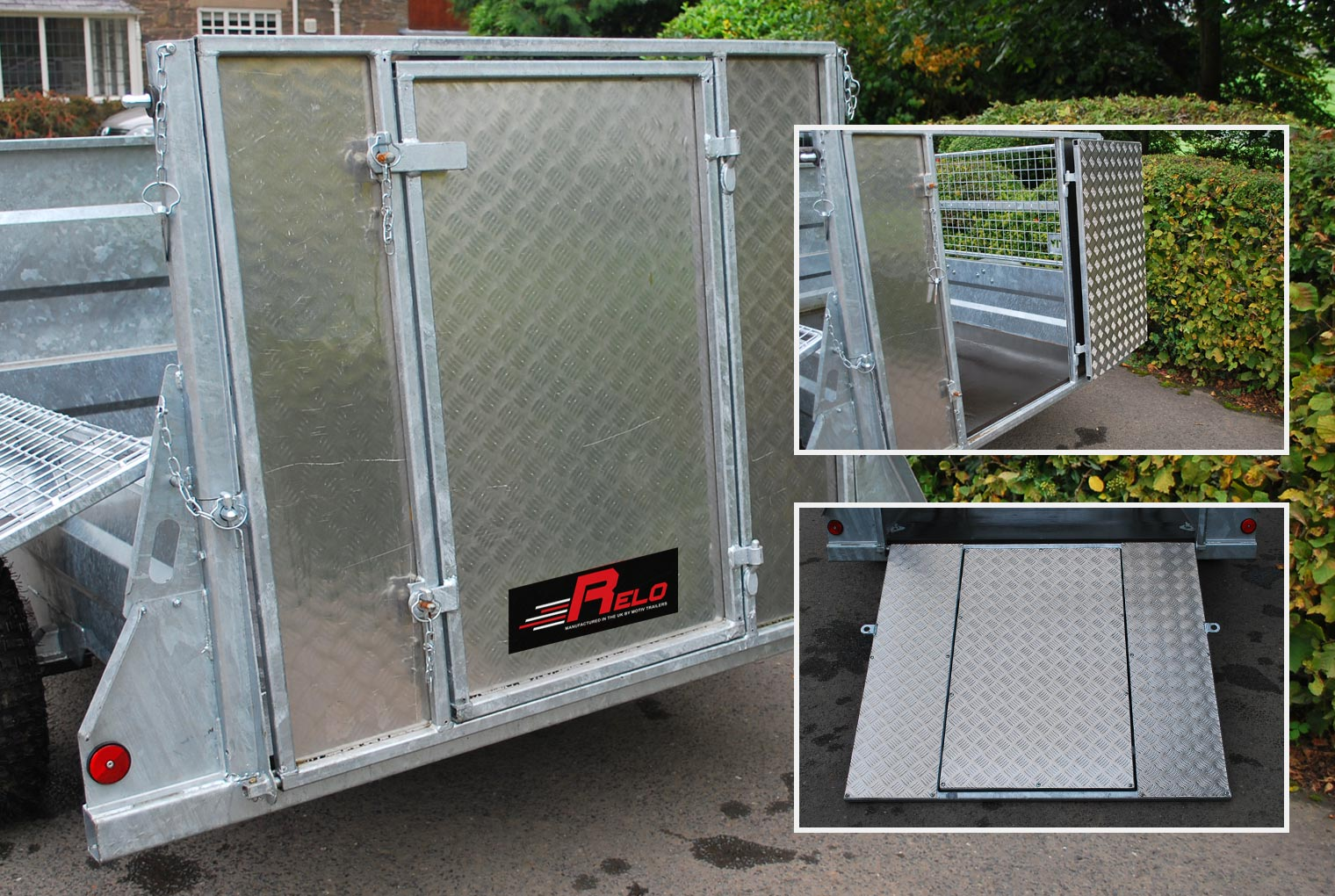 Stock Gate Ramp Relo Trailer Accessory